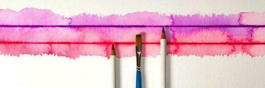 5 formas de utilizar lápices de acuarela