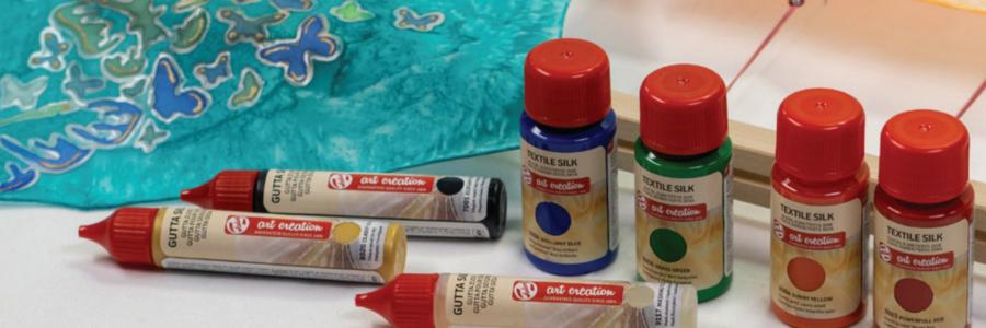 Cómo utilizar la pintura para seda