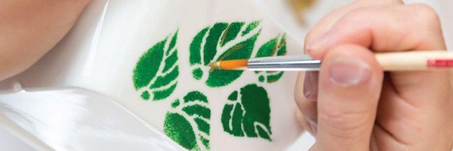 Pintar cristal a mano, paso a paso