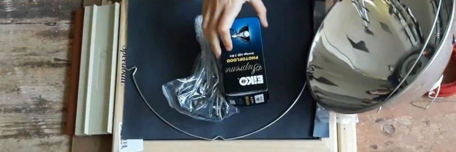 Cómo utilizar el set de emulsión serigrafía