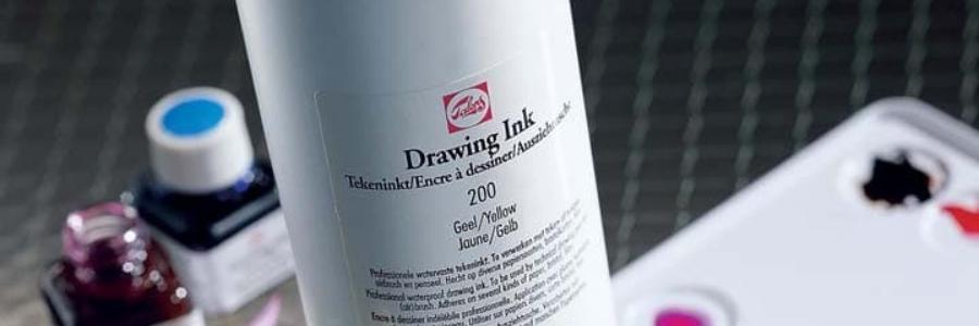 Drawing Ink & Indian Ink, las tintas de dibujo Talens