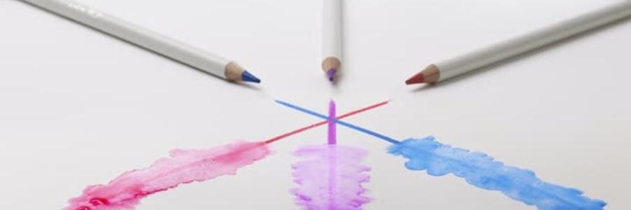 Los lápices de colores acuarelables