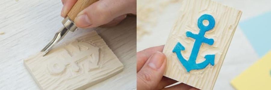 Carvado de sellos: Cómo carvar sellos paso a paso